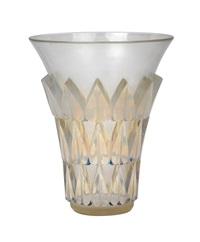 a vase feuilles by rené lalique