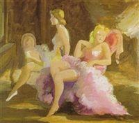 bailarinas by manuel humbert