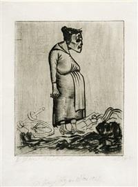 schwangerschaft by otto dix