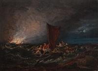 skipbrudd by thomas fearnley