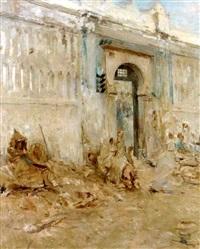 le mausolée de sidi abd el rahman, alger by georges gasté