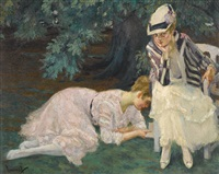 stille stunde (a quiet hour) by edward cucuel