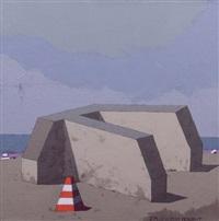 composition au cone orange et by fernando maza