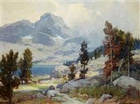 mount ritter, high sierras by jack wilkinson smith
