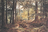 in the deer forest, inverary by john nesbitt