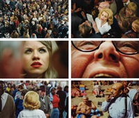 untitled (face in the crowd) box set of 6 by alex prager