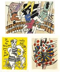 cirque (portfolio of 63) by fernand léger