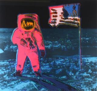 moonwalk red by andy warhol