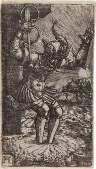 horatius cocles by albrecht altdorfer