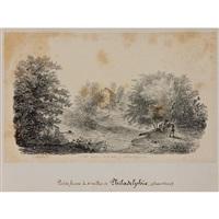 un album amicorum (25 works) by jacques-gerard milbert