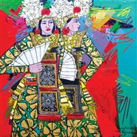 legong dancers by krijono
