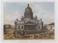 views of st. petersburg by jacottet & regamey