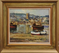low tide, st. ives by leonard richmond