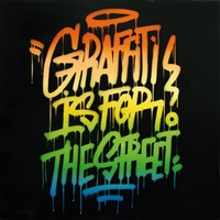 graffiti is for the street by lime