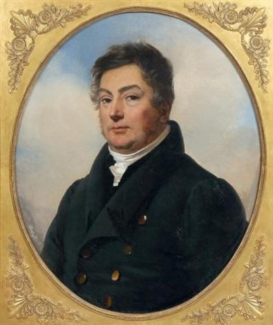 Portrait présumé de Calixte Foucher de Brandois par Claude Marie Dubufe sur  artnet