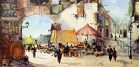 sunday market by jorge aguilar-agon