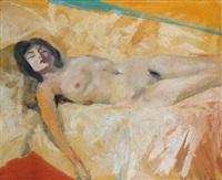 nudo femminile by ugo attardi