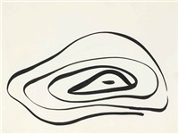 untitled (eye spring) by arshile gorky