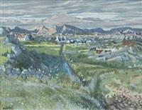 nightfall, connemara by maurice macgonigal
