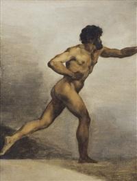 académie d'homme by théodore géricault