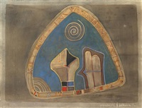 composition by farid belkahia