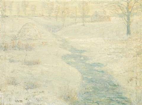 the frozen haystack by ernest lawson