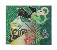 shards v (from shards (a. 148)) by frank stella