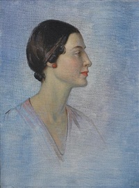 study of anna pavlova by garnet ruskin wolseley
