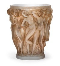 a vase bacchantes by rené lalique
