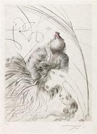 femme à la chaussure (woman with shoe) by salvador dalí