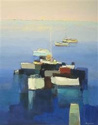 barques le soir by joseph muslin