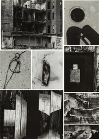 selected images (8 works) by aaron siskind