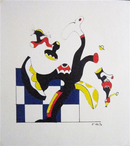 chess olympiad1976 by otmar alt
