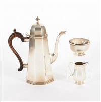 coffee set (set of 3) by tessiers ltd