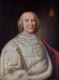 portrait du cardinal andré hercule de fleury by hyacinthe rigaud