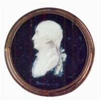 portrait d'homme en buste vers la gauche by thouesny