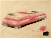 projet d'air car by raymond fernand loewy