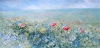 field of flowers by gail fields