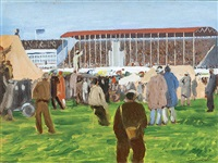 punchestown races by maurice macgonigal