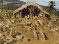 caverne à tipaza by henri evenepoel