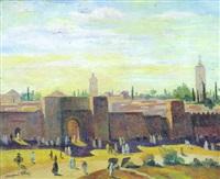 les remparts de meknes by marguerite allar