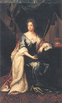 portrait of mary ii by john van der vaart