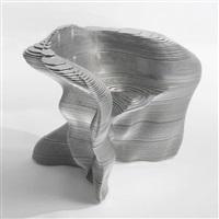 slice armchair by mathias bengtsson