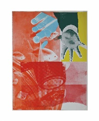 for love (from 11 pop artists, volume iii (g. 13)) by james rosenquist