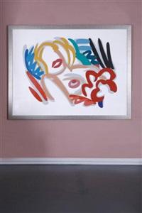 big blonde by tom wesselmann