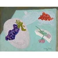 grapes by milton avery