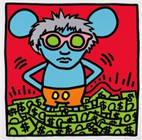 andy mouse: one plate by keith haring and andy warhol