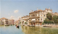 venetian canal by federico del campo