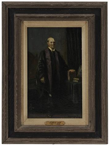 portrait of charles evans hughes sr 1862 1948 by george benjamin luks