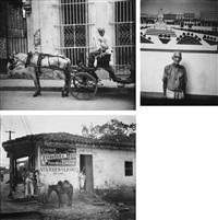 selected images of cuba (3 works) by walker evans